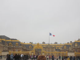 main entrance to versailles , Helena M - February 2016