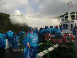 Photo of New York City 2-Day Niagara Falls Tour from New York by Bus me in the falls