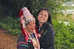 Photo of Chiang Rai Private Tour: Hill Tribes and the Golden Triangle Tour from Chiang Rai Our guide with the Akha