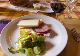 Photo of Florence Tuscany in One Day Sightseeing Tour sampling tasty foods at the farm/winery