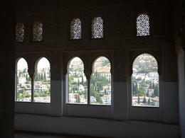 Windows overlooking Granada, Laura All Over - August 2014