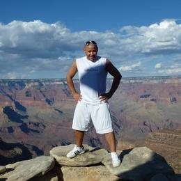 Matt on South Rim Grand Canyon , Arizona , USA , Mateusz S - October 2012