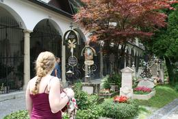 Photo of Munich Salzburg Small Group Day Tour from Munich The cemetary from Sound of Music