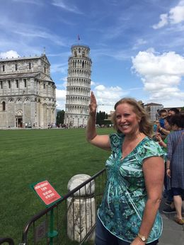 My wife Kim with the traditional pose! , fritzj1 - June 2016