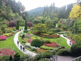 Sunken Garden at Butchart Gardens , Seznz - September 2013