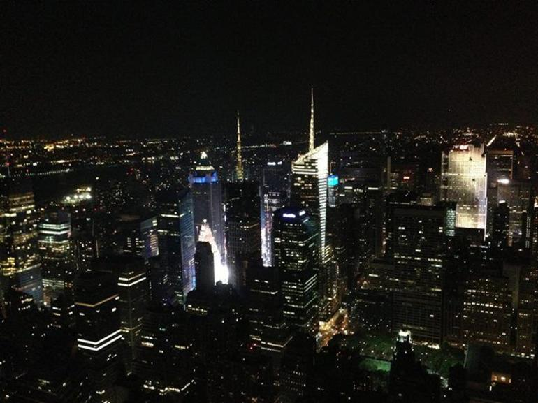 View from the 82nd floor - New York City
