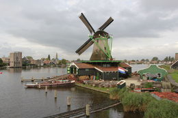 Windmill at Zaanse Schans , David A M - January 2016