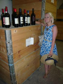 "Photo of Florence Small-Group Tuscany Wine-Tasting Tour from Florence ""Reject"" Bottles"