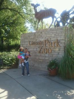 Jose,Bella and D'Angelo in lincoln park zoo , Jose H G - September 2012