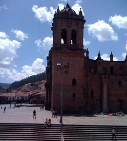 Side view of the Cathedral of Santo Domingo located in the main square in Cusco., Bandit - December 2010