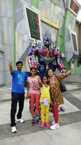The robotic movement of the transformer was thoroughly enjoyed by all of us especially my two kids... , krishna.4969 - June 2015