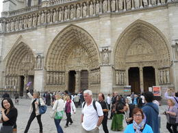 During the tour we saw Notre Dame: formidable! , Paul T - July 2011