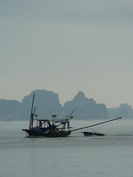 fishing boat on Halong Bay , Magda M - May 2012