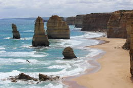 The tides and waves at the 12 Apostles. , Russell T - January 2015