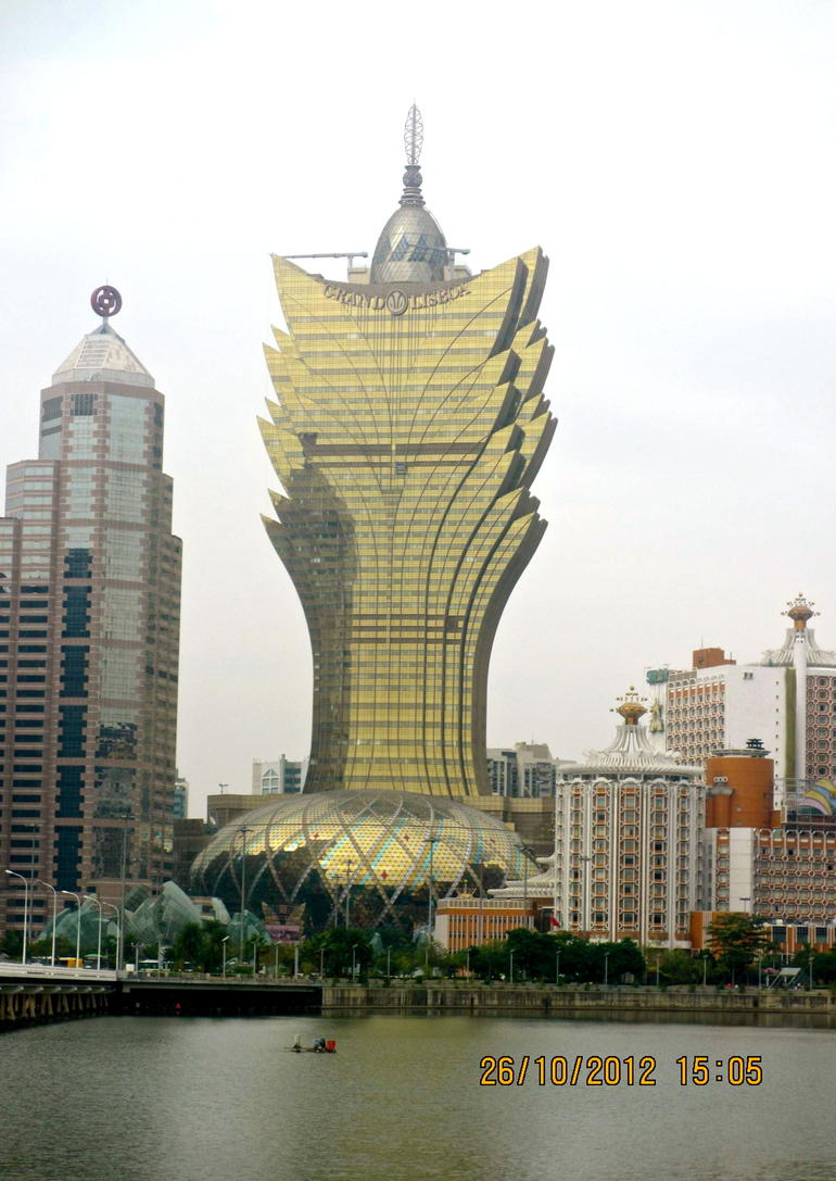 The Grand Lisboa - Hong Kong