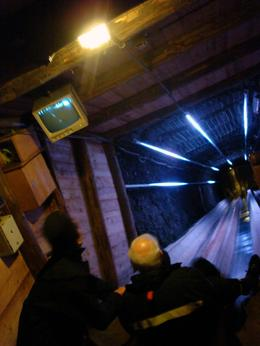 Photo of Salzburg Bavarian Mountains and Salt-Mines Tour from Salzburg The Salt Mine slide!