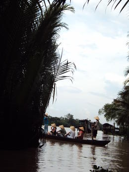 Photo of Ho Chi Minh City Mekong Delta Discovery Small Group Adventure Tour from Ho Chi Minh City Traditional Boat