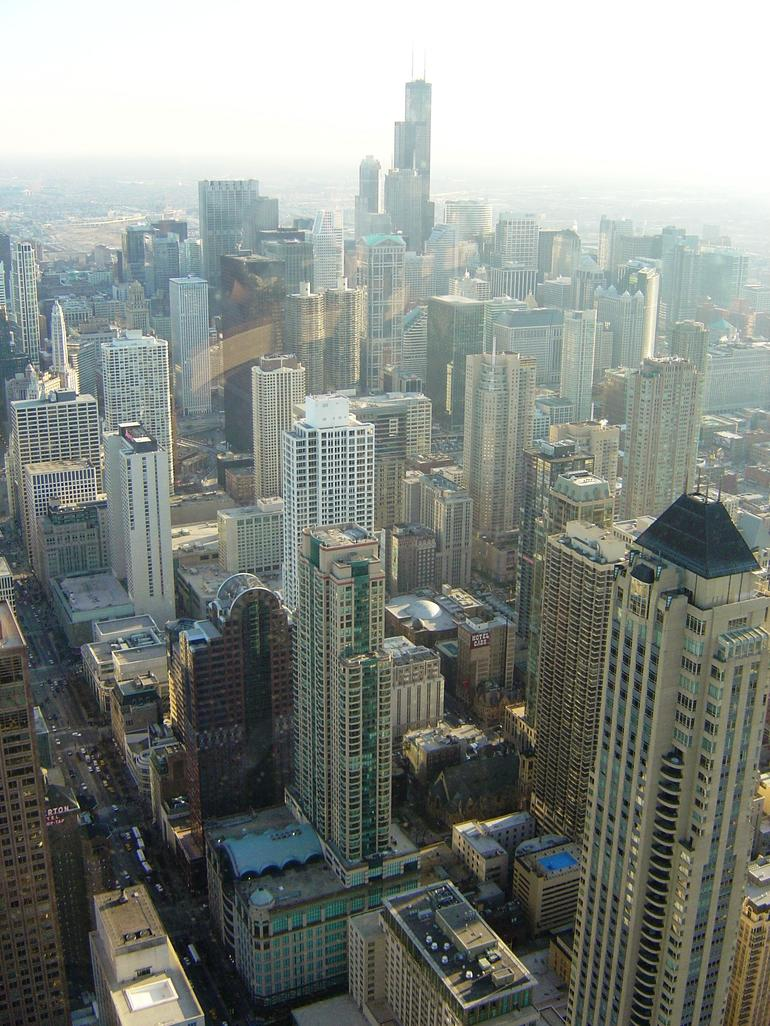 View from Hancock Tower - Chicago
