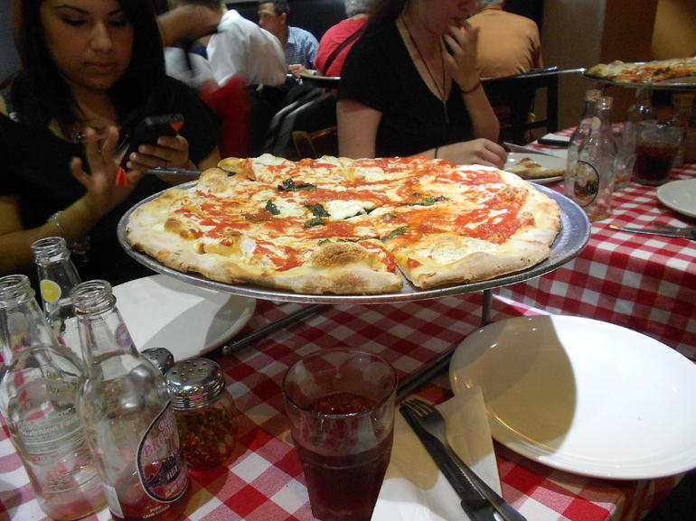 1st stop Grimaldi's - New York City