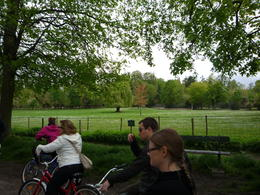Photo of Paris Versailles by Bike Day Tour A lil country-side on the Chateau grounds