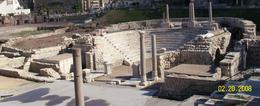 At the Roman ruins., Janis H - March 2008