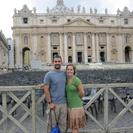 Photo of Rome Skip the Line: Vatican Museums Walking Tour including Sistine Chapel, Raphael's Rooms and St Peter's Brett and Kerry in Front in the Vatican
