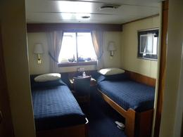 Double cabin on the ship - April 2013