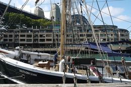 Photo of Sydney Sydney Harbour Afternoon Tall Ship Discovery Cruise Campbell's cove in front of Park Hyatt