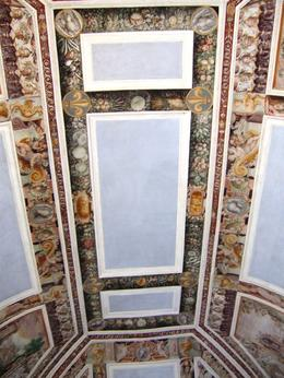 Photo of Rome Hadrian's Villa and Villa d'Este Half-Day Trip from Rome Ceiling Villa d'este