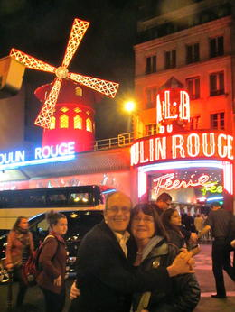 Photo of Paris Moulin Rouge Show Paris Celebrate Paris! (April 2014)