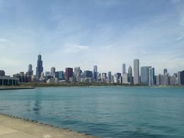 Photo of   Chicago Skyline on a clear day