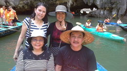 Its amazing to see the beauty of Halong Bay up close in a bamboo boat! Our boat lady easily guided our small boat in and out of caves and even took our photos. A truly memorable travel experience. , ritamarieazarcon - October 2015