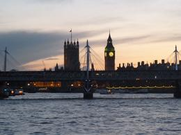 Photo of London The Original London Sightseeing Tour: Hop-on Hop-off Dusk on the thames