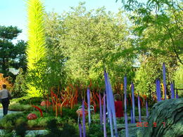 Photo of   Glimpse of Chihuly Garden and Glass  !!