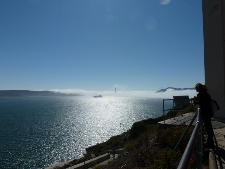 Golden gate - Where are you? - San Francisco