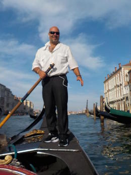 Photo of Venice Venice Gondola Ride and Serenade with Dinner gondala ride