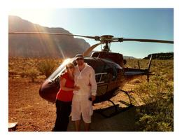 Photo of Las Vegas Grand Canyon All American Helicopter Tour Just landed in Grand Canyon.