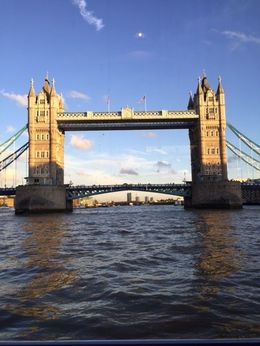 London Bridge is falling down view from River Cruise , NAZEERA N - November 2015