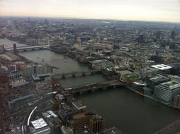 London from the top - February 2013