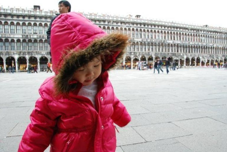 Lyn at St Mark Sq - Venice