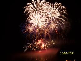 Topped off that evening with a fireworks display at the far end of the grounds. , David B - October 2011