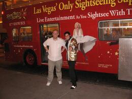 Photo of Las Vegas Las Vegas Double-Decker Bus of the Stars Photo opportunity at the Stratosphere