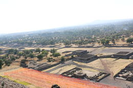 From the top of the Pyramid of the sun , nishanth - March 2014