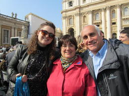 Photo of Rome Papal Audience Tickets and Presentation Tiffany and us