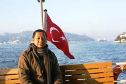 Just to let you know that this is a Turkish vessel...hehehehe, Raymond G - December 2009