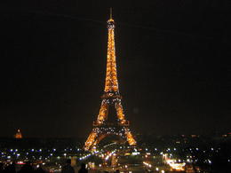 Photo of Paris Paris Night Bike Tour 257 Eiffel Tower with lights lite up every hour