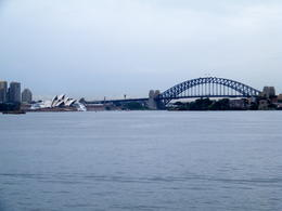 Photo of Sydney Sydney Harbour Coffee Cruise Approaching the Sydney Harbor Bridge