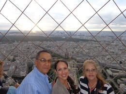 Photo of Paris Eiffel Tower, Paris Moulin Rouge Show and Seine River Cruise At the very top of the Eiffel Tower