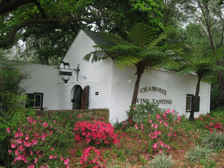 Chmonix winery - Cape Town