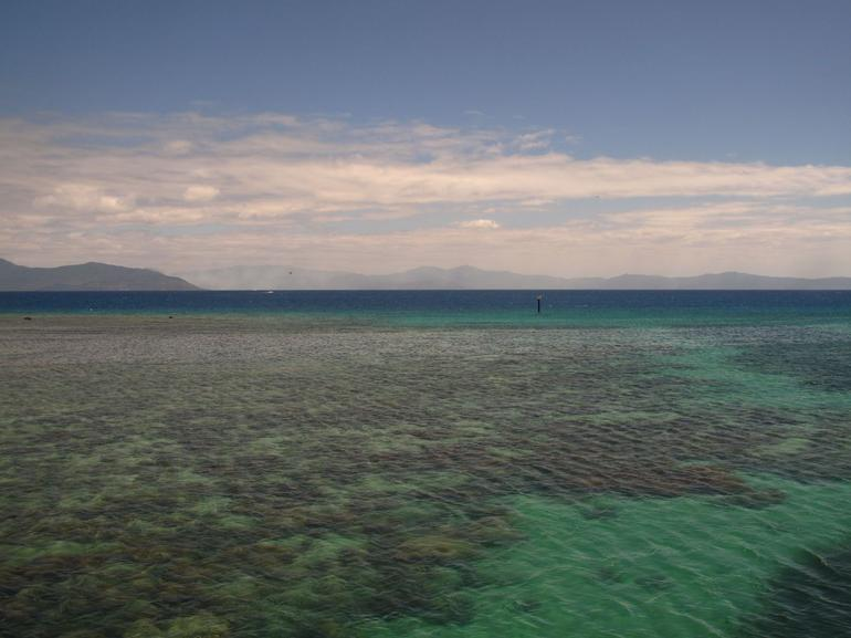 Departing Green Island - Cairns & the Tropical North